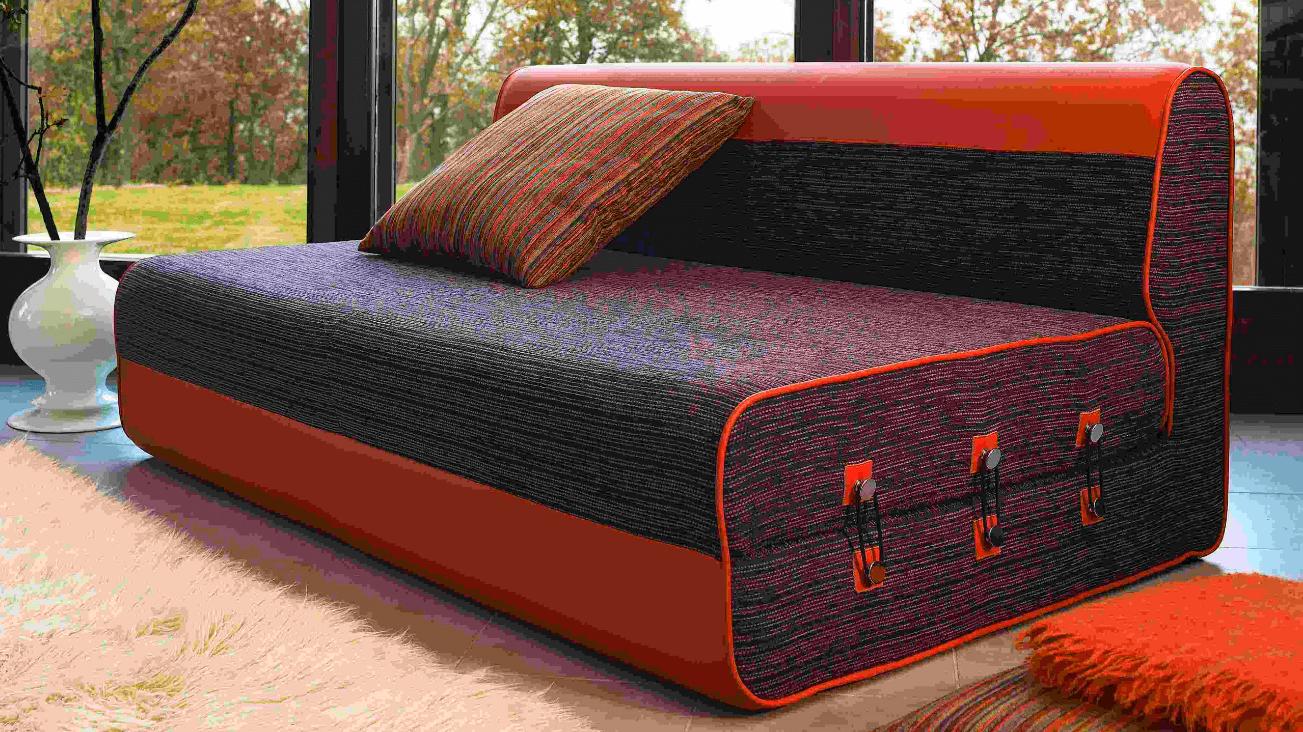 Бескаркасный складной диван