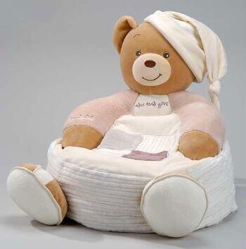Детское кресло медвежонок