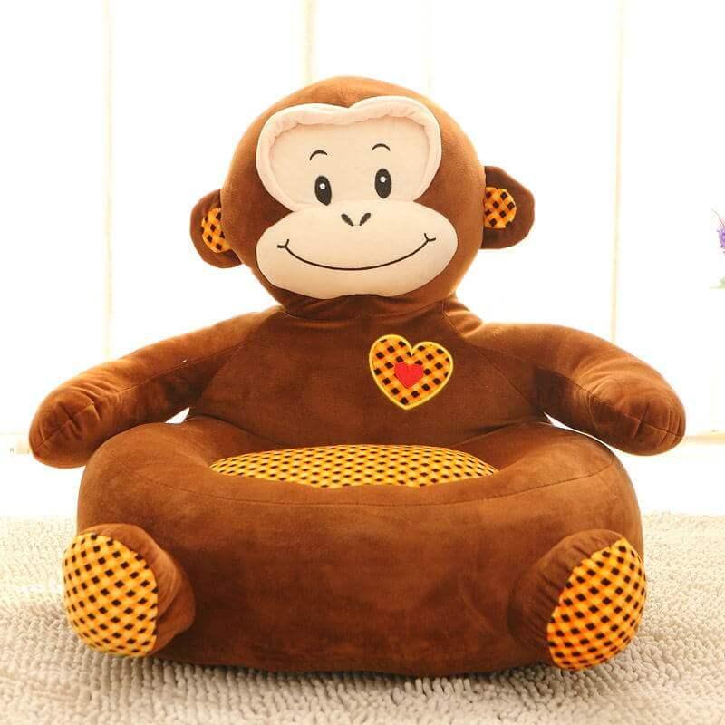 Детское кресло игрушка обезьянка
