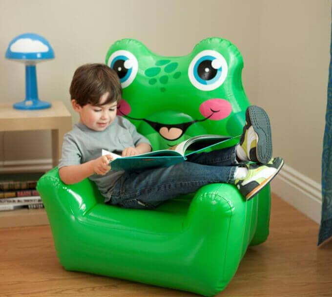 Надувное кресло игрушка
