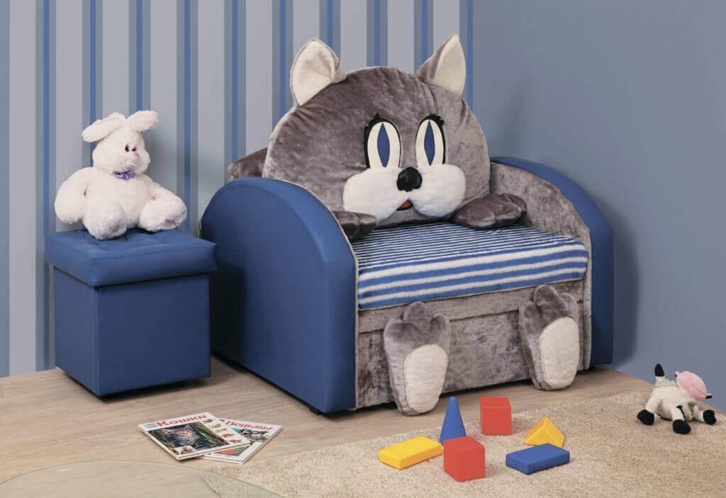 Раскладное детское кресло игрушка