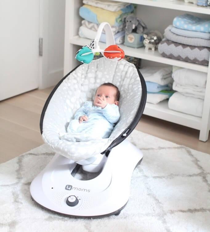 Кресло качалка для новорожденных