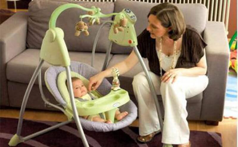 Детское кресло качель