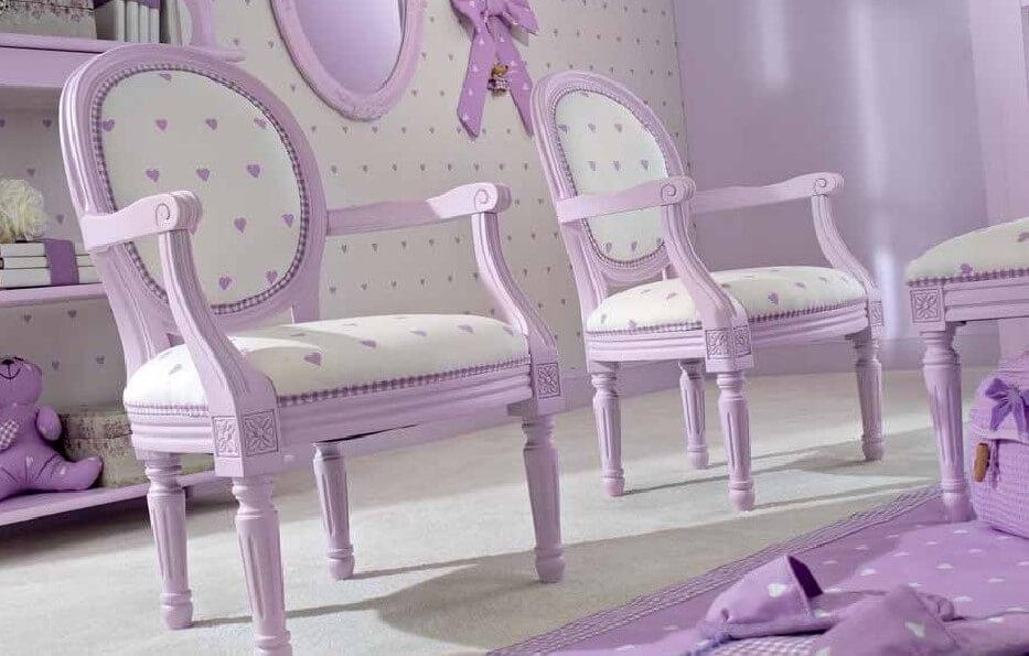 Фото детского кресла для девочки