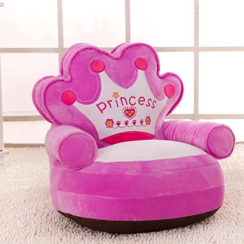 мягкое детское кресло для девочки
