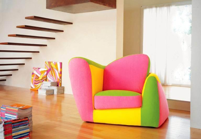 Фото детского мягкого кресла