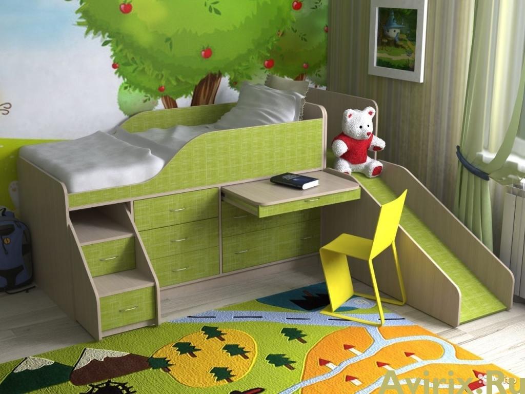 detskaya-krovat-s-gorkoj (35)