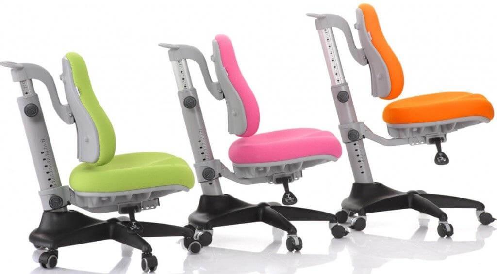 Детские ортопедические кресла с регулировкой спинки по высоте