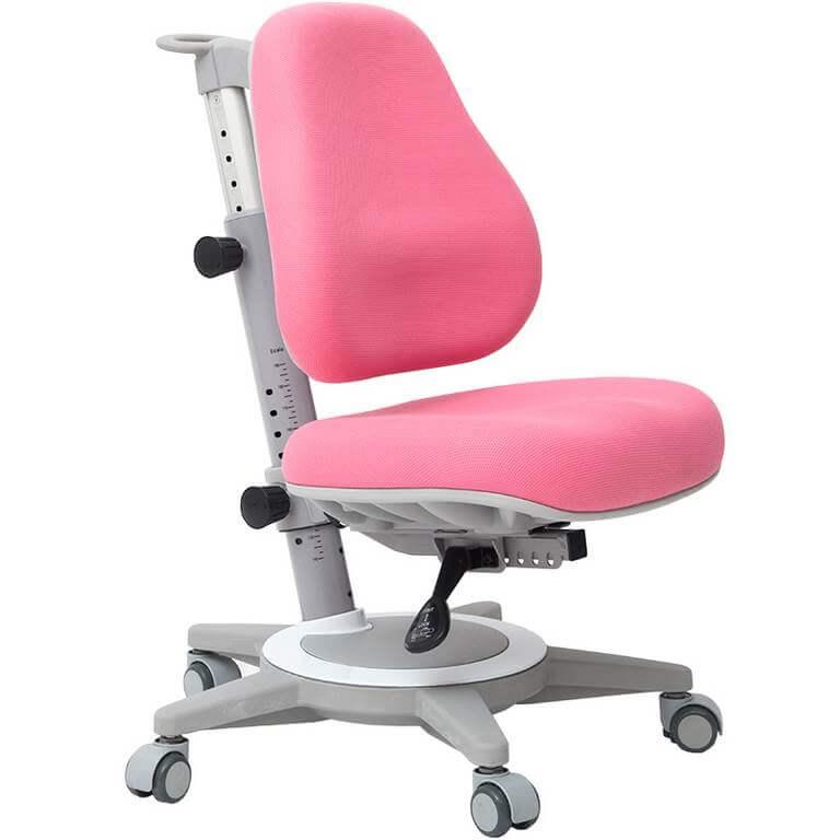 Розовое детское ортопедическое кресло