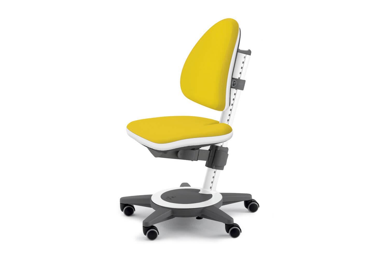 Детское ортопедическое кресло желтого цвета
