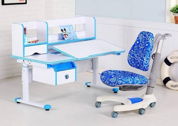 Синее детское ортопедическое кресло