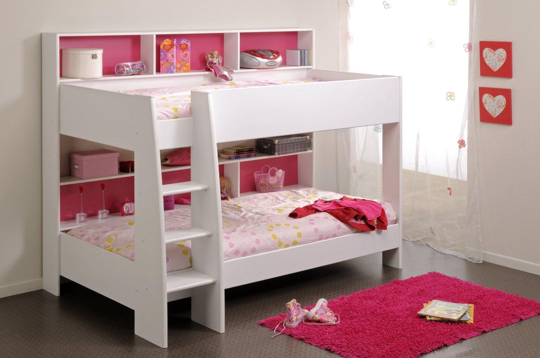 двухъярусная кровать для девочек - фото