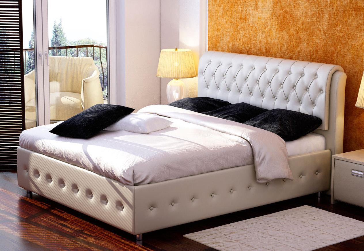 двуспальная кутаная кровать