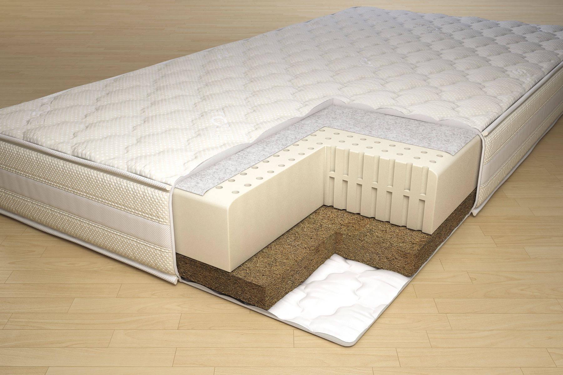 беспружинный матрас для кровати