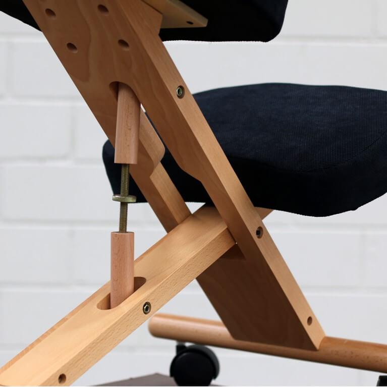регулируемый коленный стул