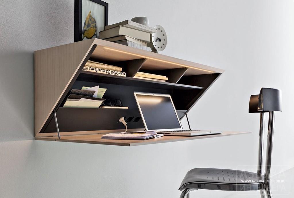 Компьютерный стол трансформер с откидной столешницей