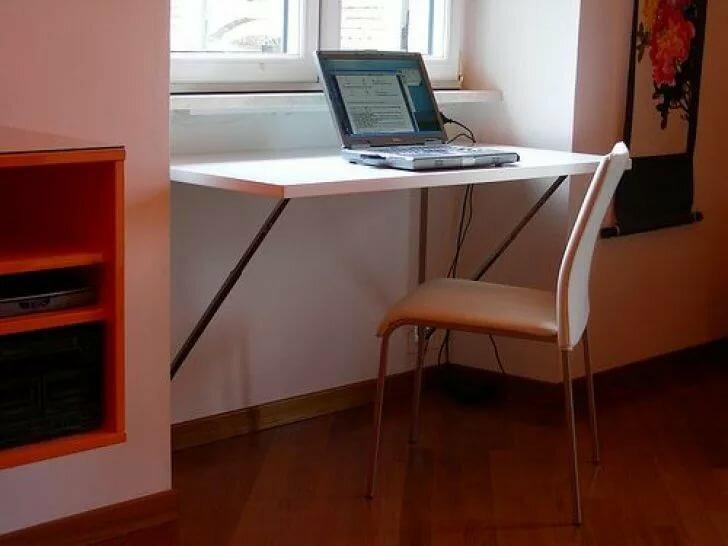Компьютерный стол трансформер с подъемной столешницей