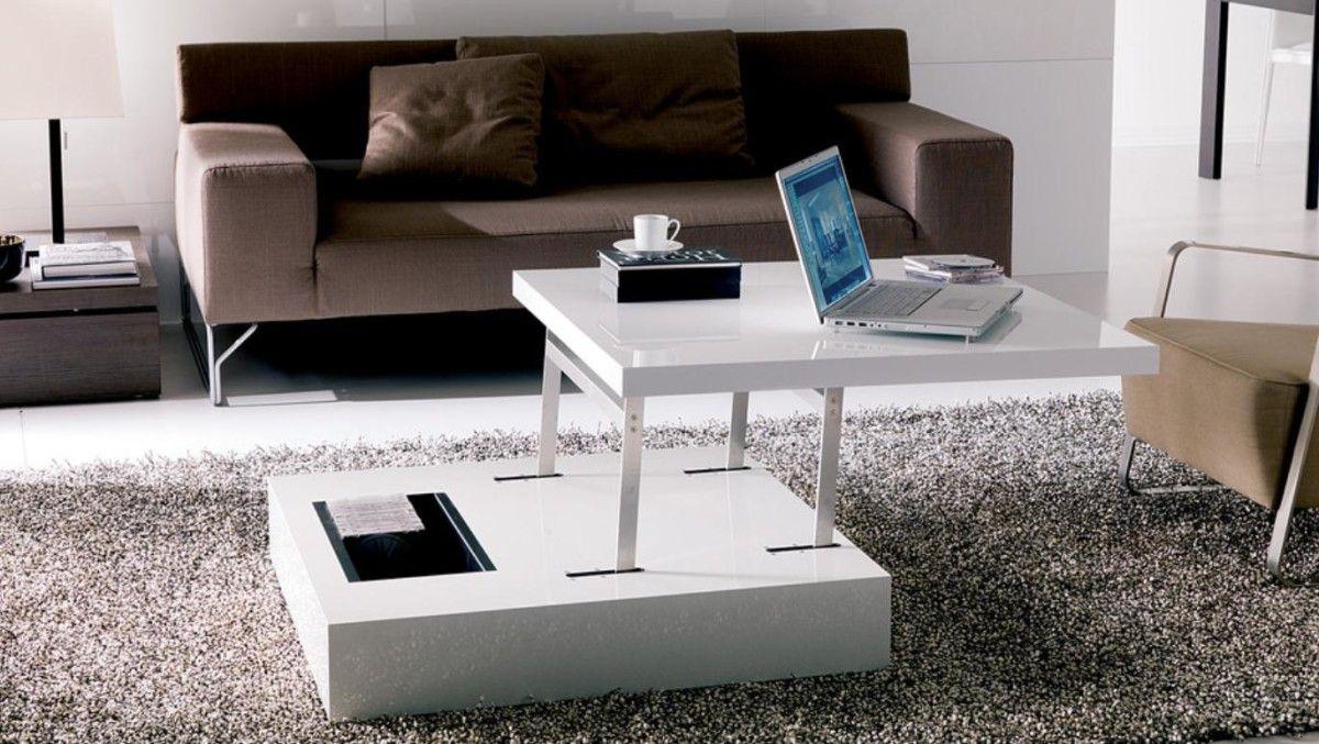 Компьютерный стол трансформер белого цвета
