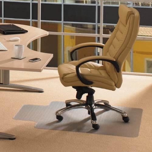 Прозрачный коврик под компьютерное кресло