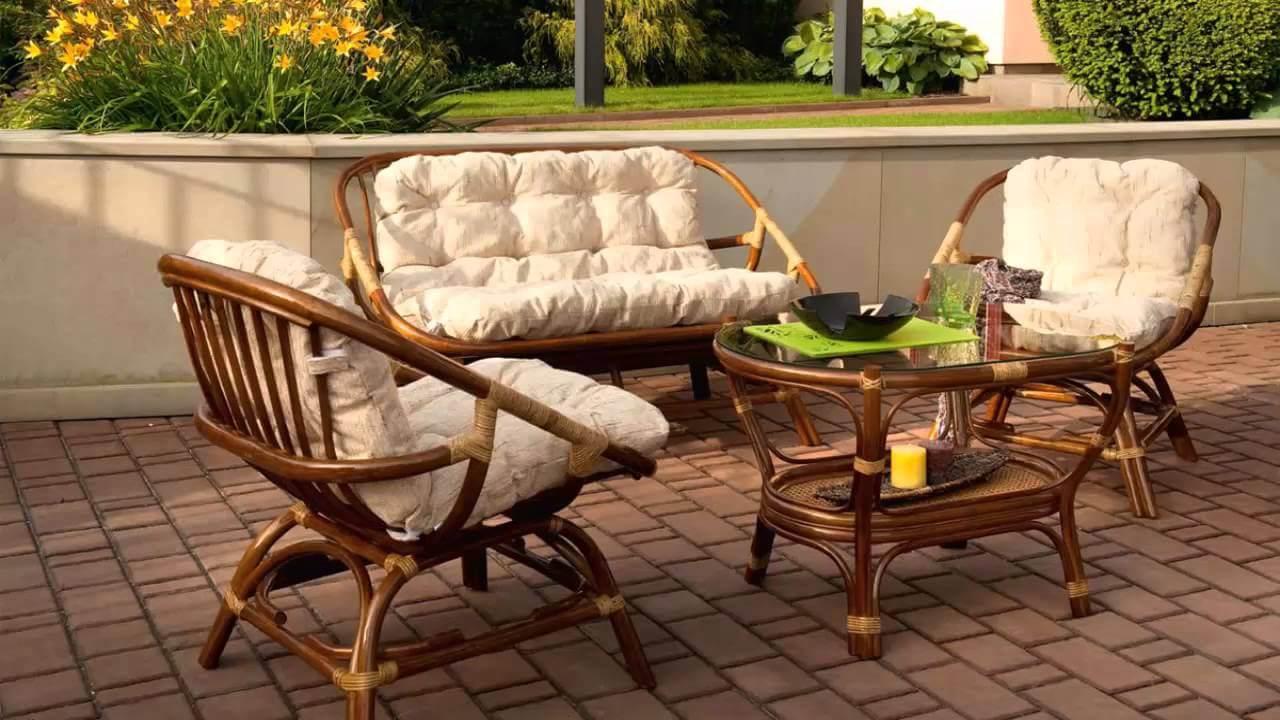 Дачная мебель из ротанга