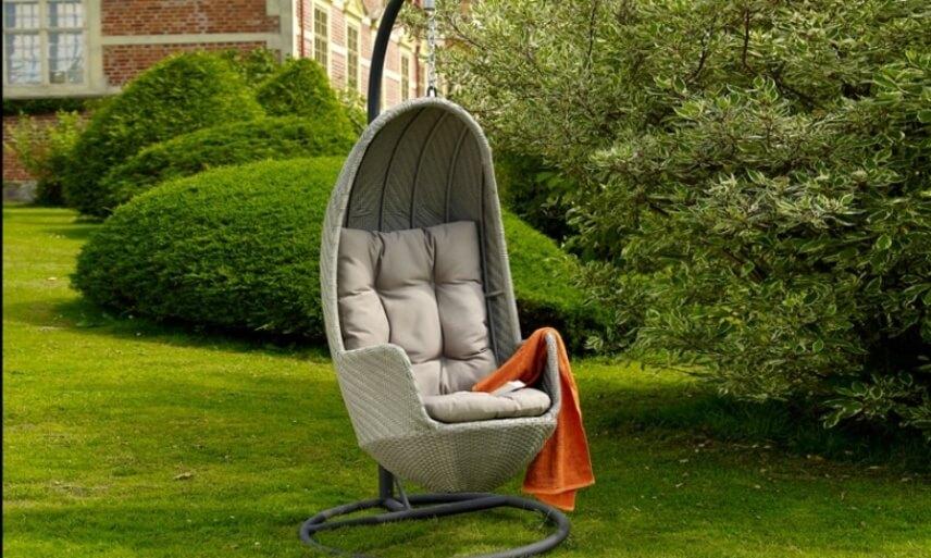Подвесное дачное кресло