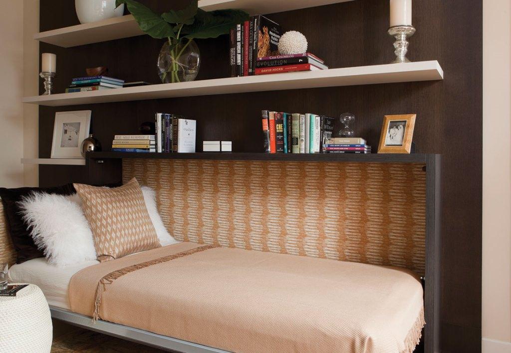 горизонтальная откидная кровать