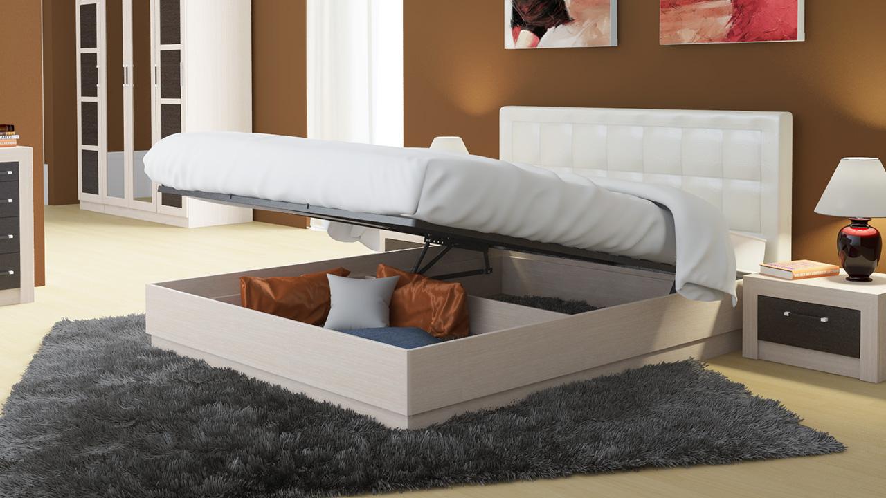 фото подъёмного основания кровати