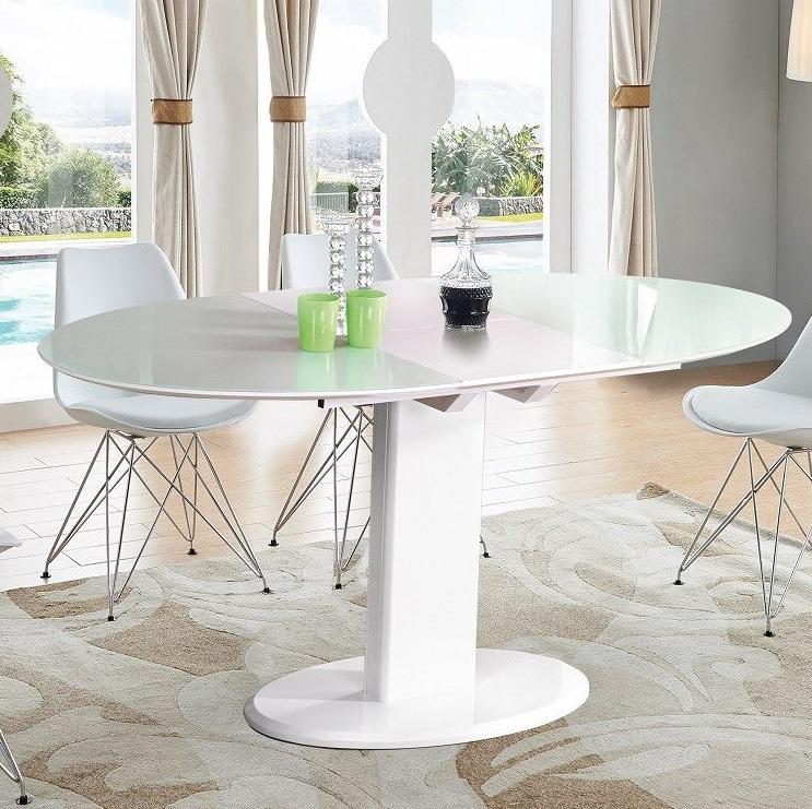 Круглый раскладной кухонный стол