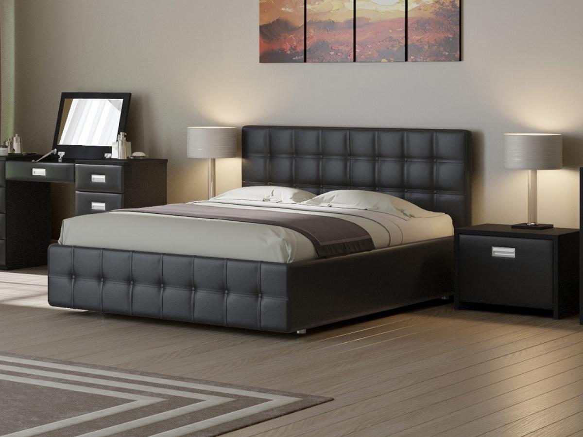 кровать с мягким каркасом
