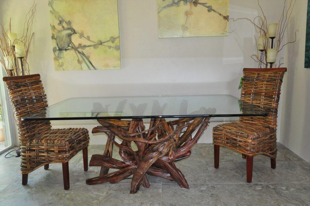 Подстолье для кухонного стола из дерева