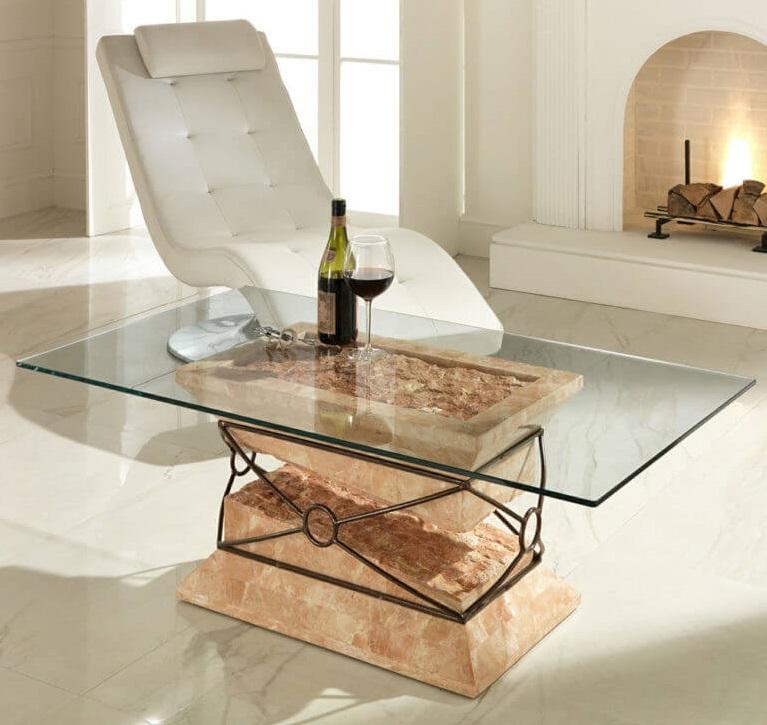 Подстолье для кухонного стола из металла и дерева