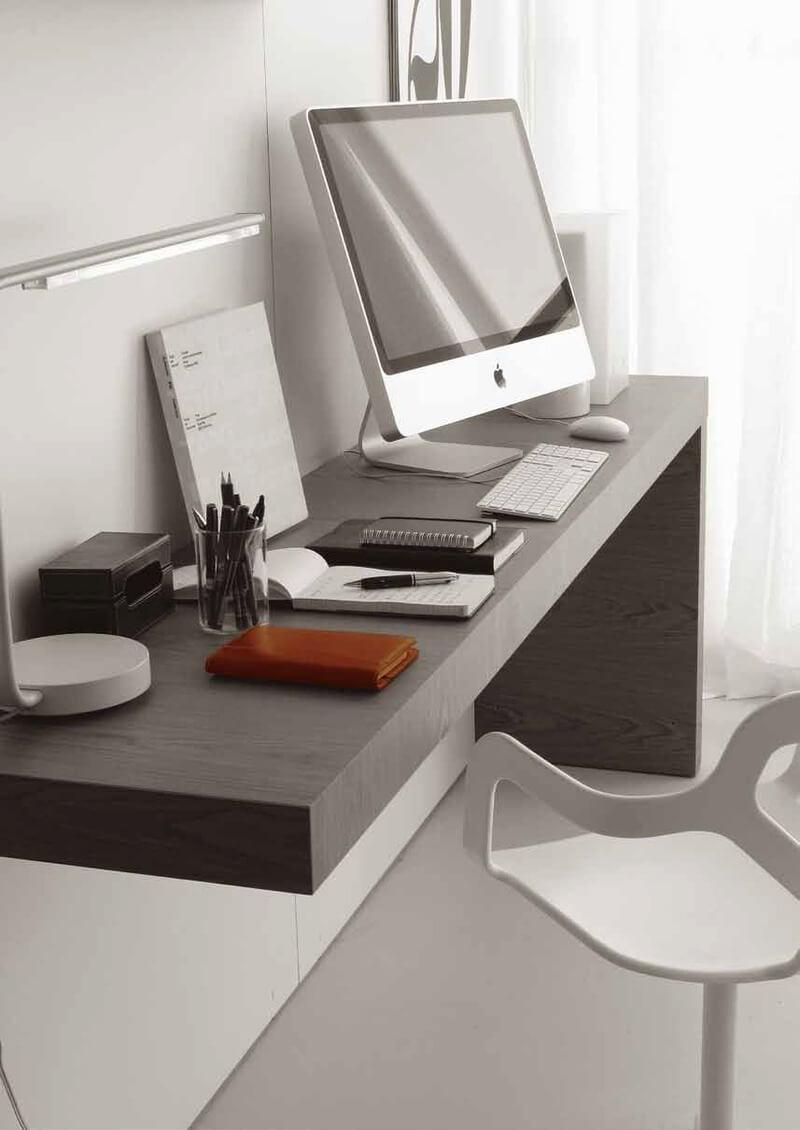 Фото подвесного компьютерного стола