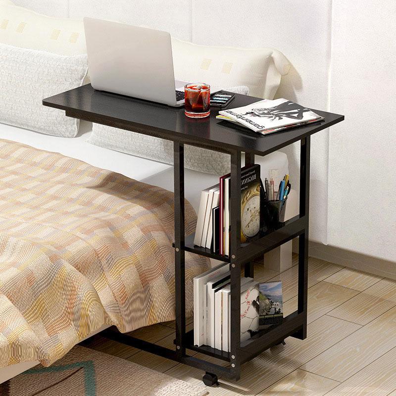 Деревянный прикроватный стол для ноутбука