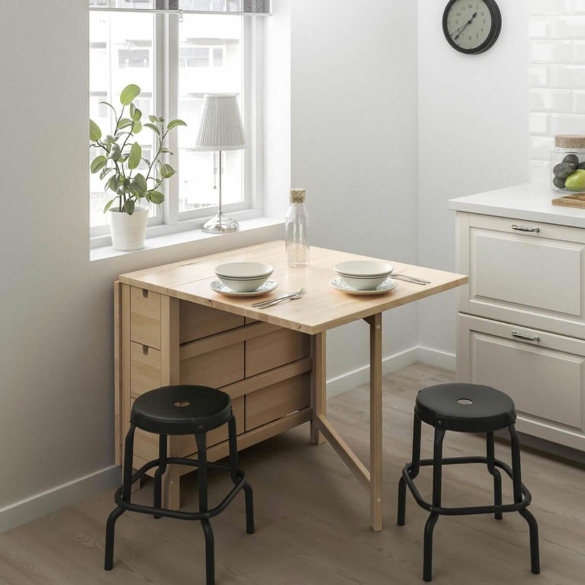 Раскладной стол книжка для маленькой кухни