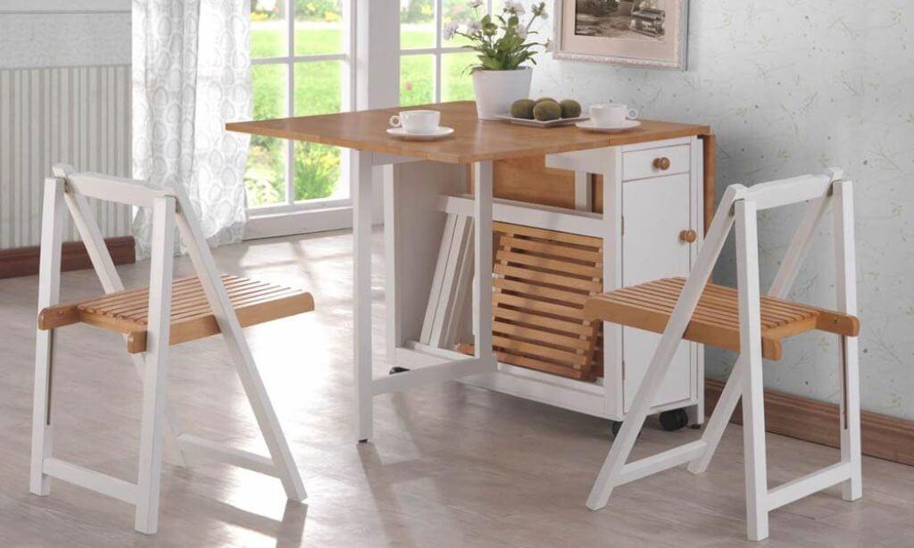 Стол трансформер книжка для маленькой кухни