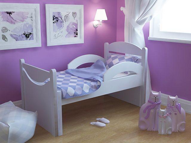 раздвижная детская кровать