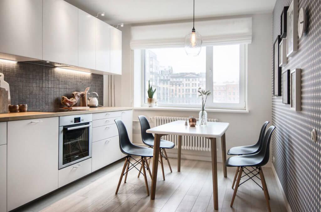 Фото стола для маленькой кухни