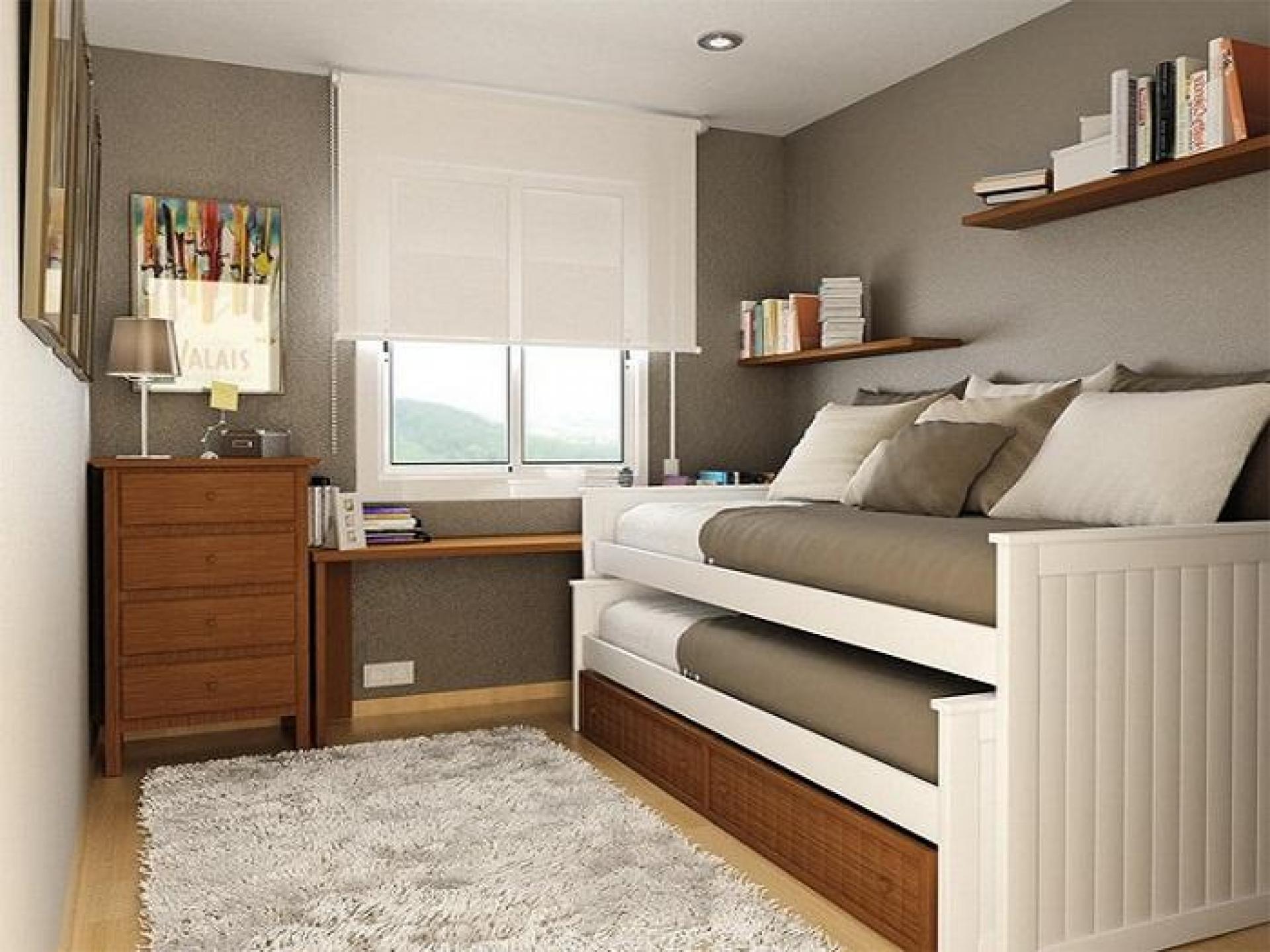 низкая двухъярусная кровать
