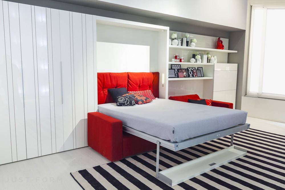 двуспальная кровать трансформер с диваном