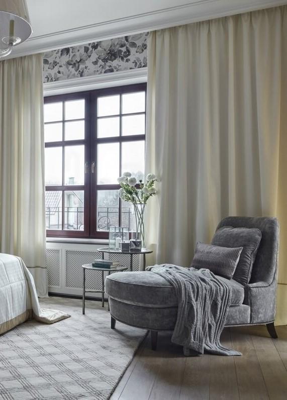 Кресло в спальню без подлокотников
