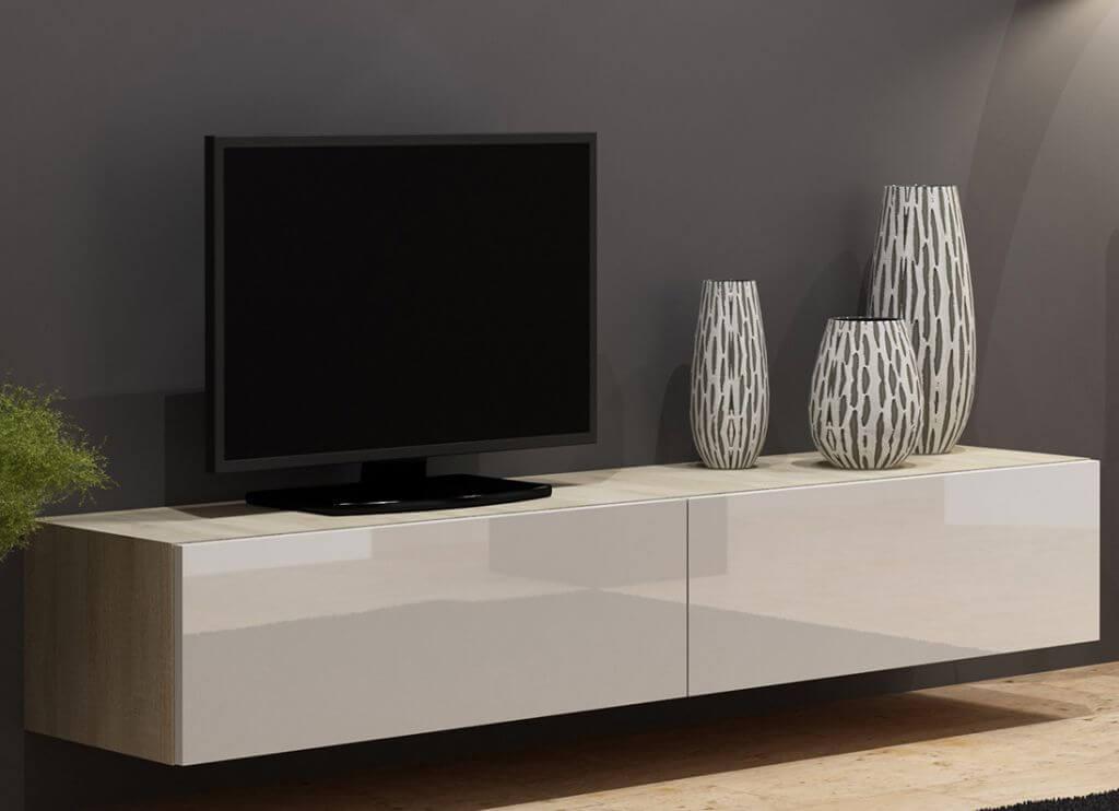 Подвесная ТВ тумба