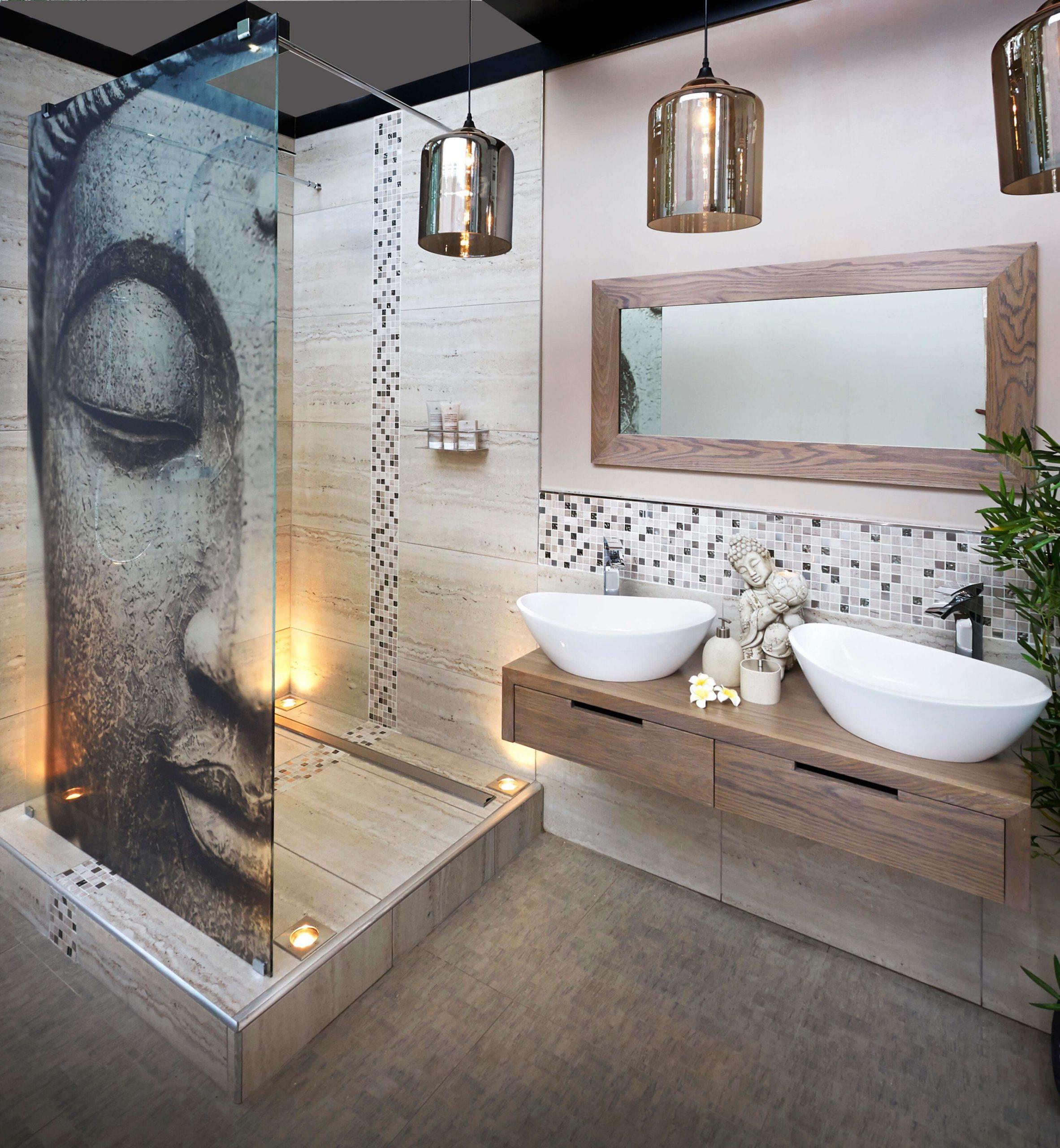 Фото подвесной тумбы под раковину в ванную