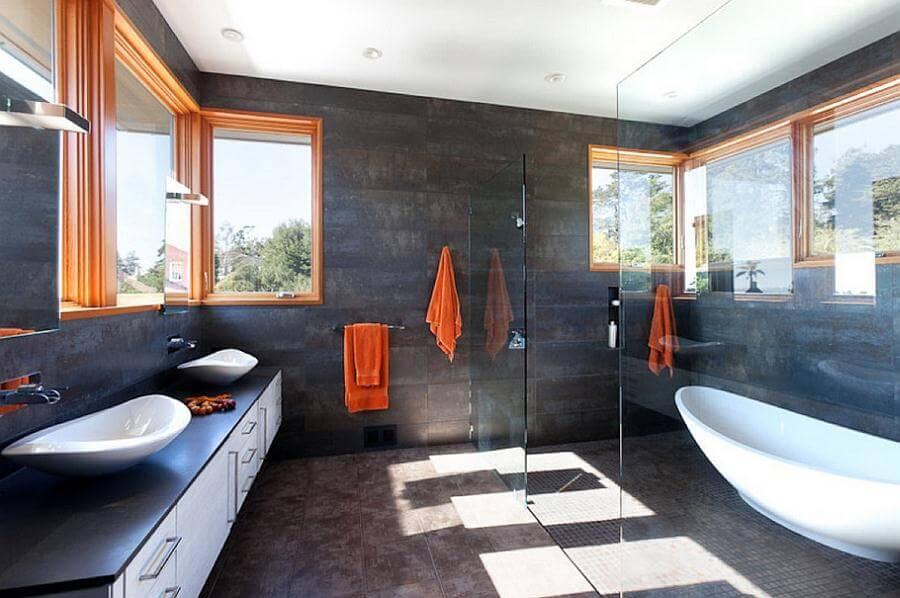 Подвесная тумбочка под раковину в ванную