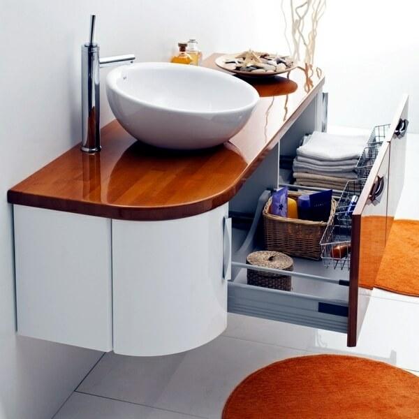 Тумба под накладную раковину в ванную