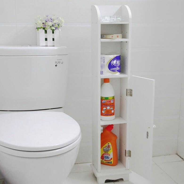 Узкая тумба для туалета