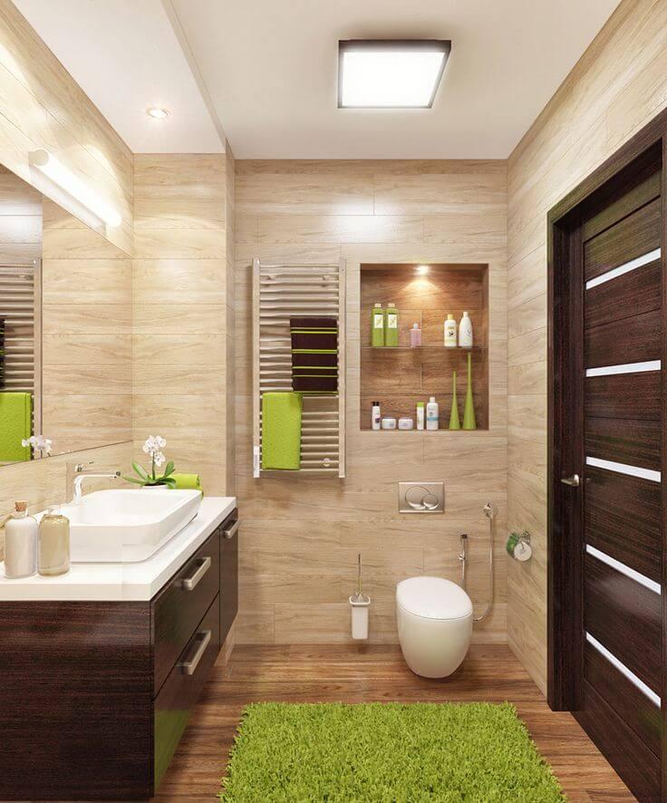 Консольная тумба в ванную комнату со столешницей