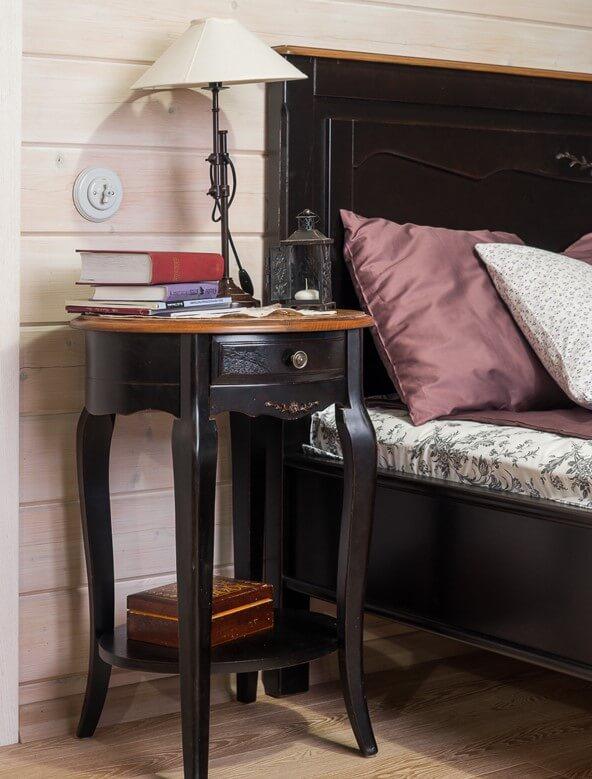Фото тумбочки с прикроватным столиком