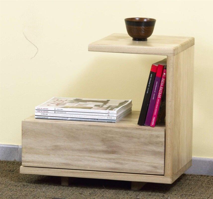 Тумбочка с прикроватным столиком