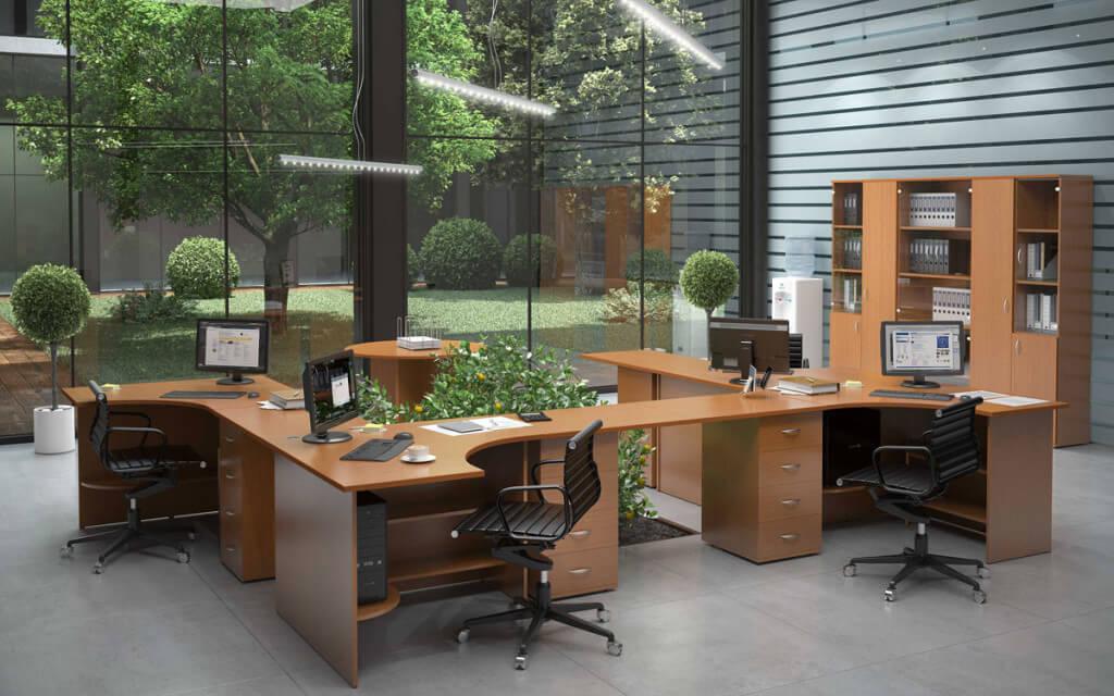 Фото офисных тумб
