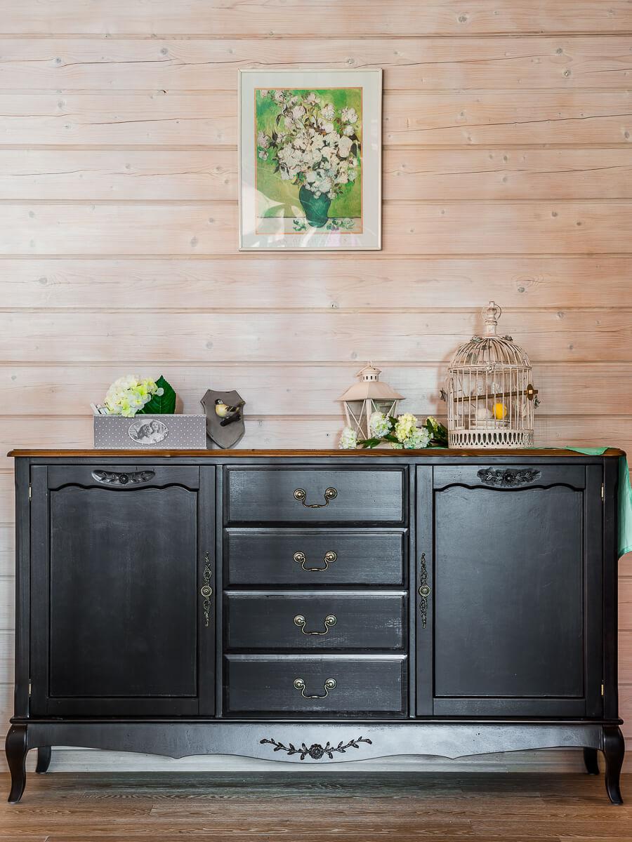 Комоды в гостиную черного цвета